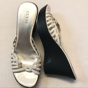Guess wedge shoes size 8.5